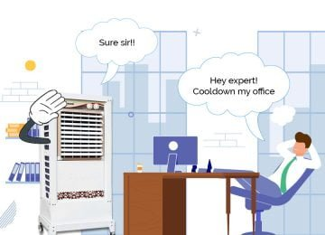Air coolers, the perfect cooling solution for your office
