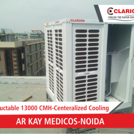 Ductable Centralized Cooling